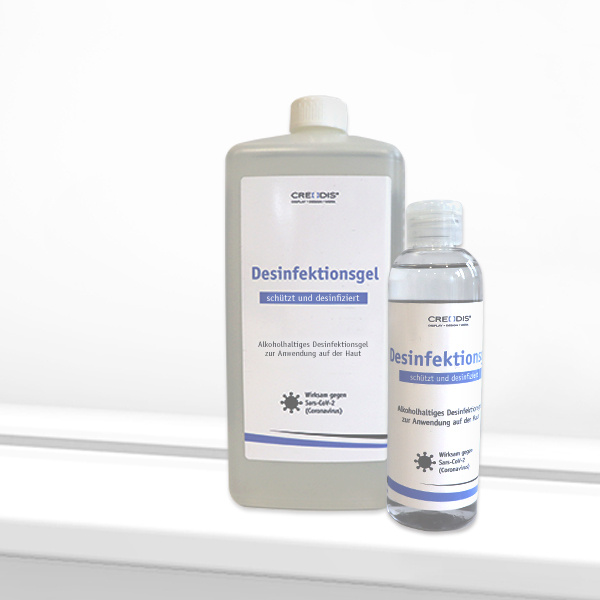 Disinfection gel