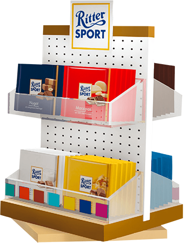 POS Display für Ritter Sport